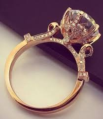 pretty diamond rings images 12 impossibly beautiful rose gold wedding engagement rings pretty jpg