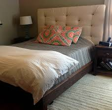 How To Make Your Own Fabric Headboard by Top Padded Headboard Diy Diy Upholstered Headboard With A High End