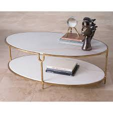 marble gold coffee table gold iron and marble coffee table the designer insider