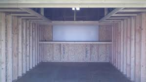 Barn With Loft by 6 Wrap Around Loft And Shelf Package With White Pegboard 12x24x11