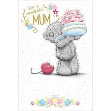 mum birthday me to you bear luxury card a01mn124 me to you