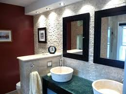 wall ideas for bathrooms tile accent wall in bathroom alund co