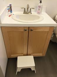 Two Vanities In Bathroom by Before And After Pink Bathroom 2 Goes Family Friendly U2013 Julia O