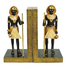 egyptian tomb guardian book ends king tut tomb guardians