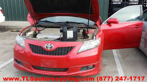 parting out 2009 toyota camry stock 4018yl tls auto recycling