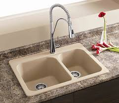 Blanco Silgranit Natural Granite Composite Topmount Kitchen Sink - Kitchen sinks granite composite