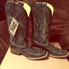 womens corral boots size 12 37 corral boots s corral black snake overlay cowboy