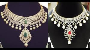 diamond necklace set images Indian diamond necklace designs jpg