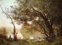 Recollec - recollections of mortefontaine c 1864 camille corot wikiart org