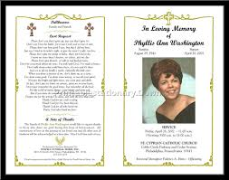 29 images of blank funeral program template adornpixels