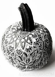 pumpkin black and white pumpkin 10 halloween pumpkin decorating ideas ladylux online luxury