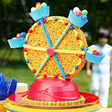 carnival birthday party wheely delicious cake parents