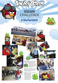 Challenge Angry Finnair Angry Birds Asian Challenge Promo Pr Ad By Miltton