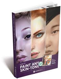 paintable how to paint any skin tone in 5 minutes with gradient maps