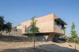 architectural home design brick house by mariano molina