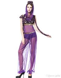 promotional code for wholesale halloween costumes cosplay costumes for women genie dance wear dress
