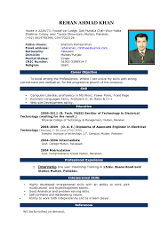 Resume Word Template Free Free Resume Templates It Template Word Fresher With 89 Marvelous