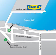 ikea dubai ikea abu dhabi marina mall location map gif