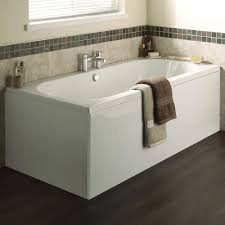 Premier Bathroom Furniture by Premier Otley Round Double Ended Bath With Front End Panels At