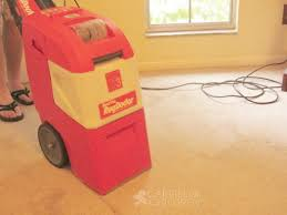 Rug Doctor Carpet Cleaner Rug Doctor Saves The Day Carrie With Children