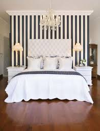 use stripes to make ceilings look higher from hative just cause