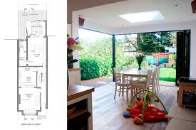 architect designed house extension east finchley barnet n2 ground