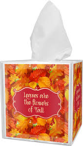 fall leaves tissue box cover potty training concepts