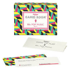 games room 80 u0027s pop music quiz trivia game amazon co uk toys u0026 games