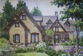 small french cottage home plans