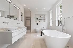 white bathrooms ideas white modern bathroom homeform
