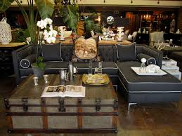 Suitcase Coffee Table Blue Ginebra Sofa With Steamer Trunk Coffee Table 22 Bond St