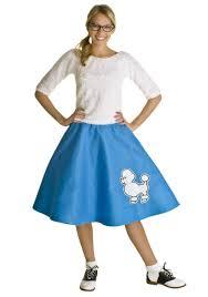 50s Halloween Costume Ideas Blue 50s Poodle Skirt Halloween Costume Ideas 2016