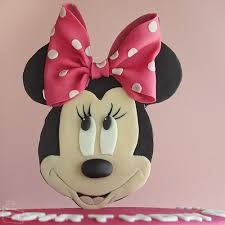Red Minnie Mouse Cake Decorations Minnie Mouse Cake Cakecrumbs