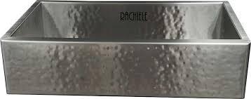 stainless farmhouse kitchen sink hammered stainless steel kitchen sink rapflava