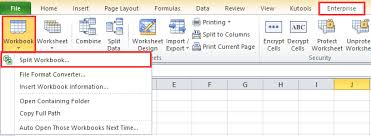 how to export and save each worksheet as new workbook in excel