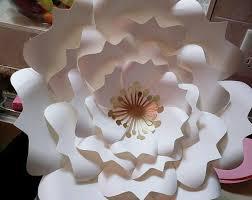 diy giant paper flower printable templates flower template
