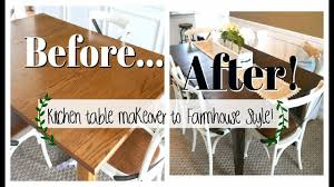 farmhouse kitchen table kitchen table makeover how to refinish