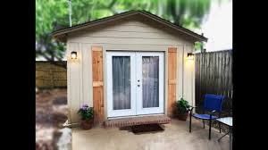 Backyard Cottage Ideas Garage Converted Into 320 Sq Ft Backyard Cottage Tiny House Is
