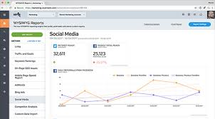 automated social media reports for facebook twitter u0026 linkedin