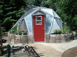 Backyard Green House by Solar Greenhouses Geodesic Dome Greenhouses Home Greenhouse Kits