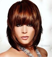 haircuts forward hair modern neck length hairstyle with forward jutting layers