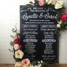 wedding program chalkboard the 25 best wedding program chalkboard ideas on