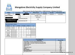 Electricity Bill Desk How To Pay Mescom Electricity Bills Online