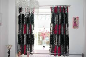 black and red curtains for bedroom awesome black and red cool red and black curtains collection also fascinating for bedroom