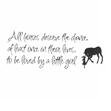 aw9026 fly higher motivating quote decoration inspirational diy modern design best price all horses deserve the chance love horse girls inspiration window wall stickers