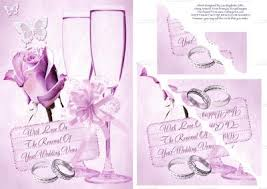 vow renewal cards congratulations perfectly pink wedding vows renewal card cup143465 614