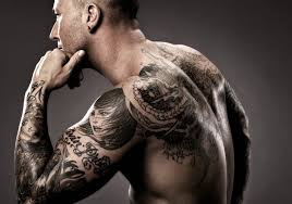 cool sleeve tattoo with for man tattoos for men