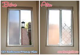 bathroom window ideas for privacy window diy bathroom window privacy week 5 diy