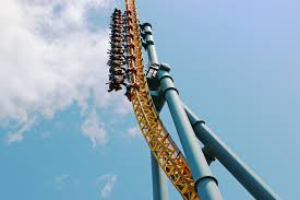 X Flight At Six Flags The Best Thrill Rides At Six Flags Great America
