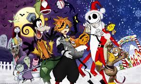 kingdom hearts halloween town hd desktop wallpaper